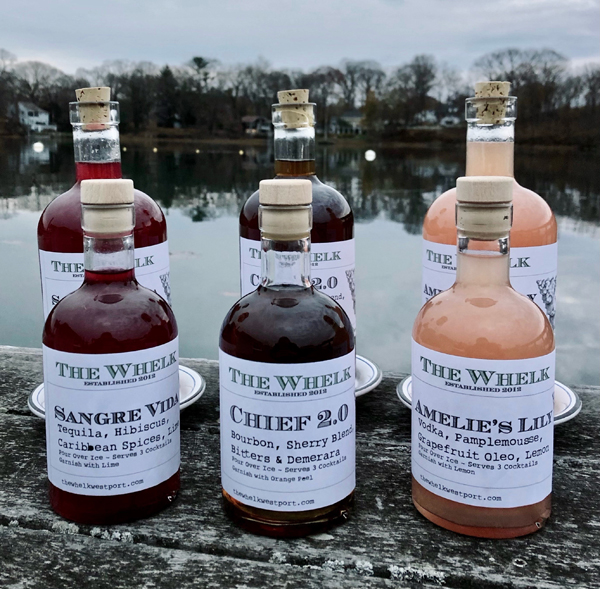 The Whelk cocktails